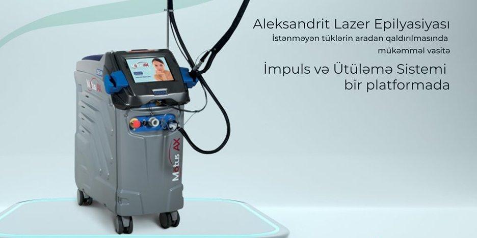 Aleksandrit lazer cihazı