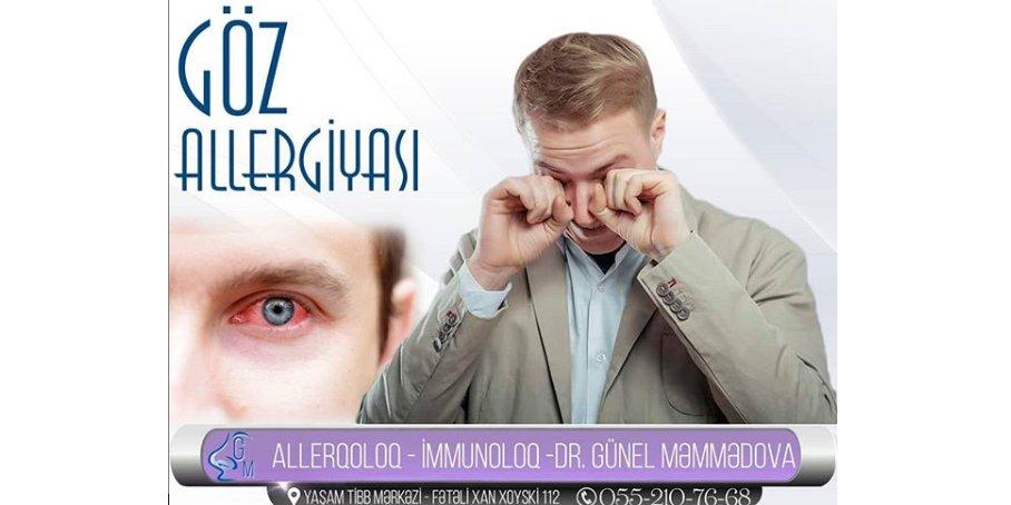 Göz allergiyasının diaqnostikası